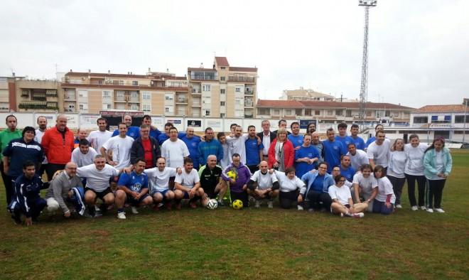 Fútbol solidario a beneficio del Voluntariado de Asprona