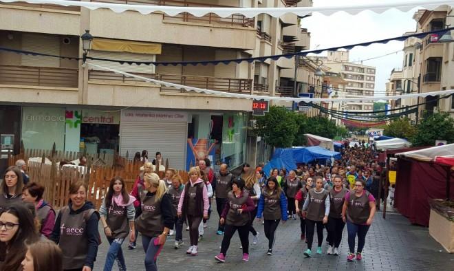 Marcha Solidaria a beneficio de la Asociación Española Contra el Cáncer