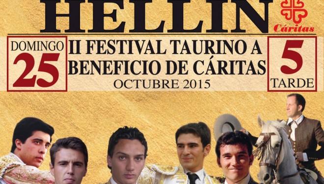 Presentado el Festival taurino a beneficio de Cáritas