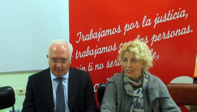 Ana Baidez sustituye a Juan Sánchez en la dirección de Cáritas Interparroquial de Hellín
