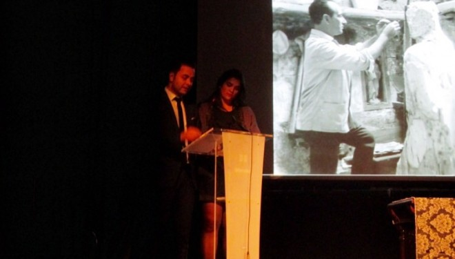Homenaje al escultor José Zamorano