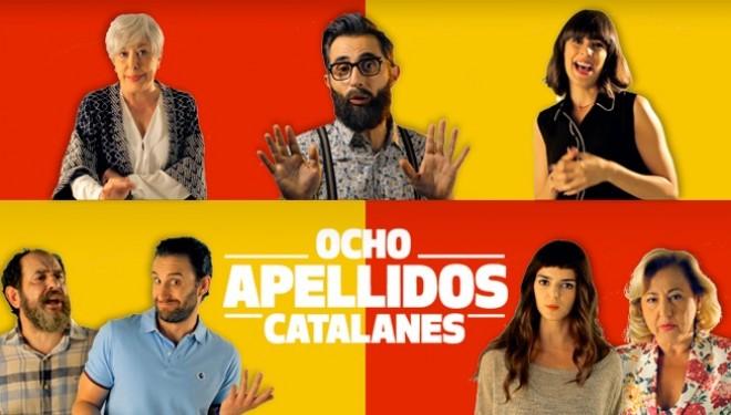 """Estreno de """"Ocho apellidos catalanes"""" en el Teatro Victoria"""