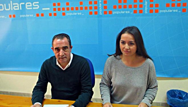 Mínguez critica la política de empleo del Partido Socialista