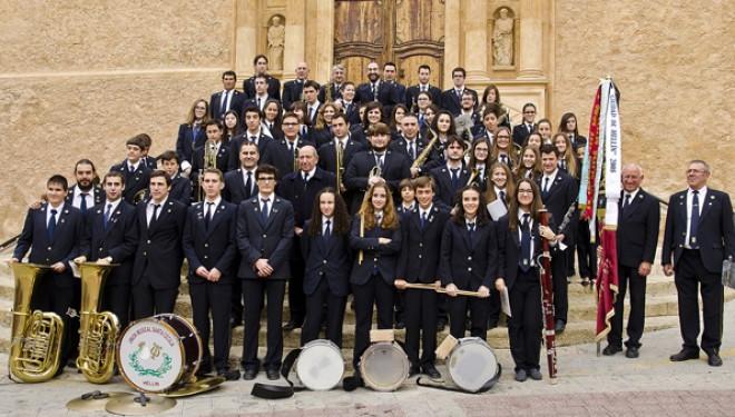 La Unión Musical Santa Cecilia de Hellín celebra este fin de semana su tradicional Concierto de Navidad