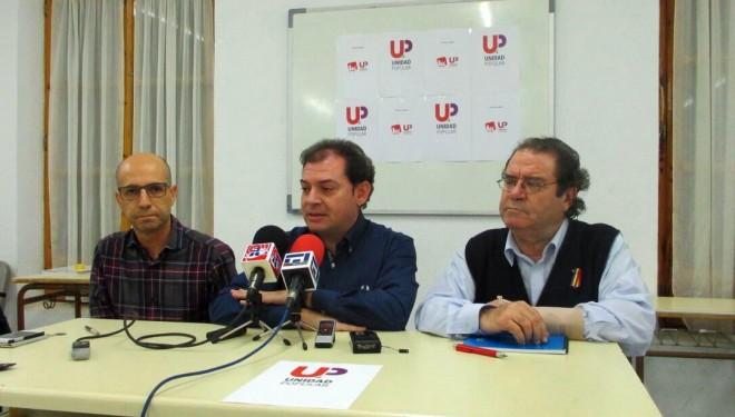 Unidad Popular  presenta sus candidatos al Congreso y al Senado