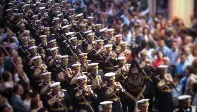 """La banda de cornetas """"Cristo de las Tres Caídas"""" actuará en el Teatro Victoria"""