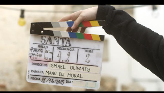 """Finalizado el rodaje de """"SANTA"""", nuevo cortometraje de Ismael Olivares"""