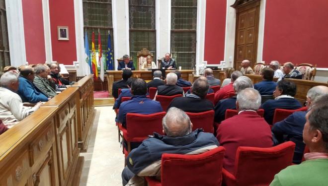 Visita de la consejera de Fomento Elena de la Cruz a Hellín