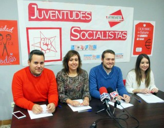 Juventudes Socialistas de Albacete presenta sus candidatos a las próximas elecciones