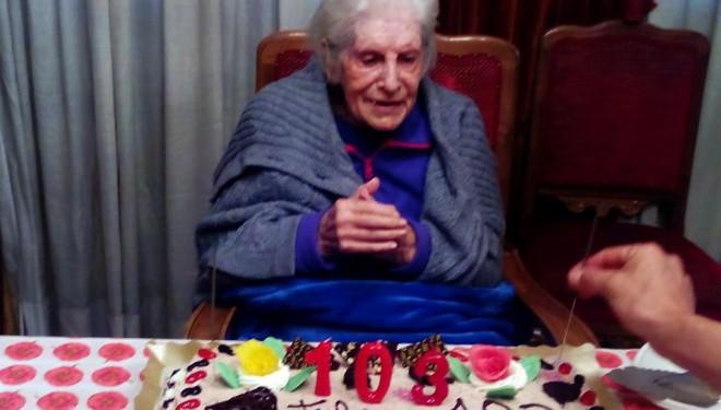 Una mujer de 103 años llamada a formar parte de una mesa electoral