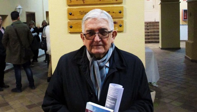 Presentación de la novela de Manuel Torrecillas en Murcia