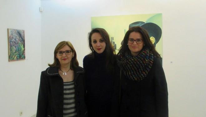 Inauguración de la exposición de pintura de María Isabel González