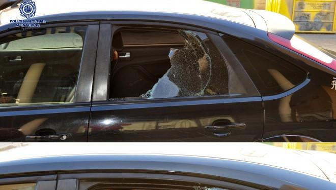 Un detenido como presunto autor de robo en varios vehículos