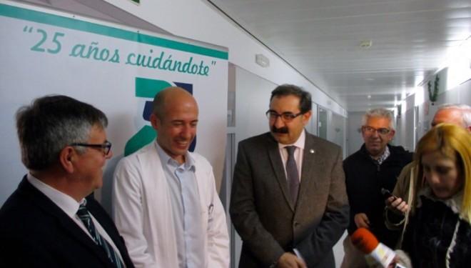 Visita del consejero de Sanidad, Jesús Fernández, a Hellín