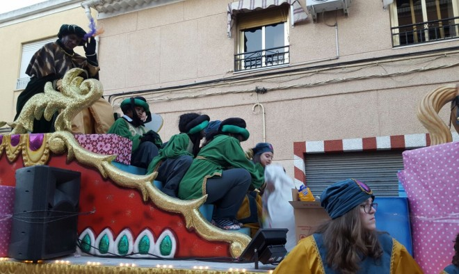 Reyes Magos en Hellín