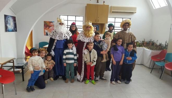 Visita de los Reyes Magos de Oriente a Hellín