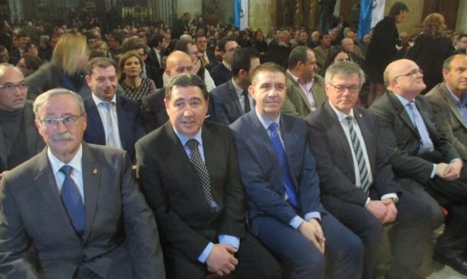 Autoridades presentes en el acto de Miércoles de Ceniza / EFDH