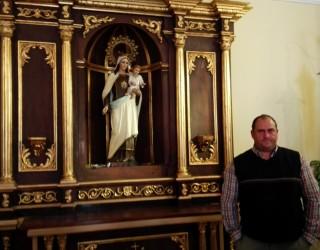 Restaurado el retablo de la Capilla del Cementerio Municipal