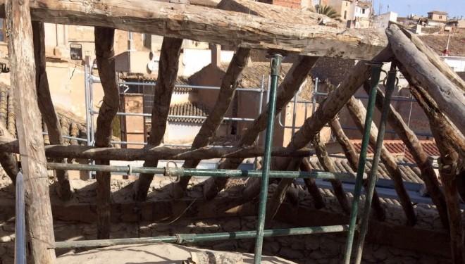 Terminadas las obras provisionales y urgentes del Convento de los Franciscanos