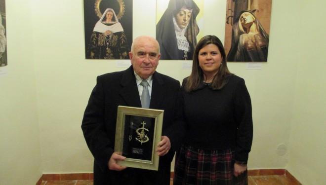 Emiliano Martínez XI premio Hermandad Virgen de la Soledad