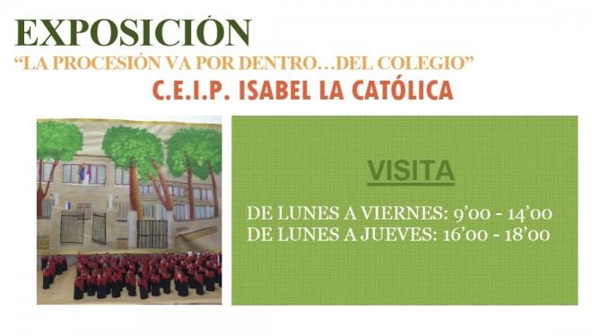 """Exposición del Colegio Público """"Isabel La Católica"""""""