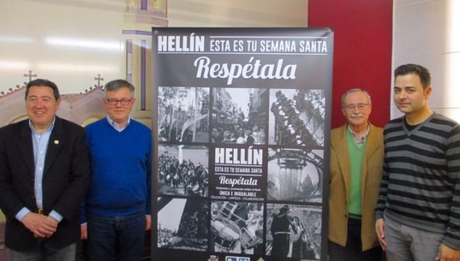 """Presentada la campaña """"Hellín, esta es tu Semana Santa. Respétala"""""""