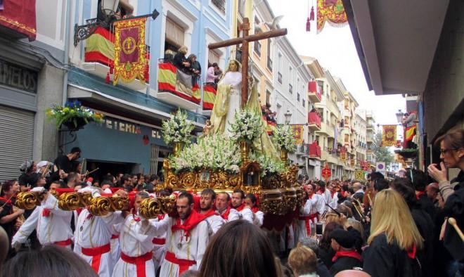Virgen de la Cruz en el Rabal / EFDH