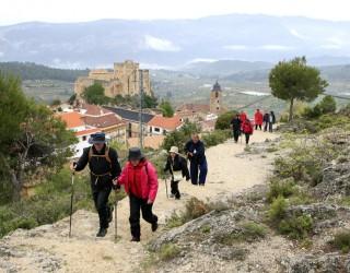 Llega a Yeste la X Ruta Senderista de la Diputación Provincial