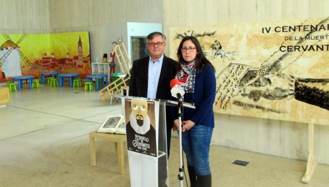 Presentación de las actividades organizadas en IV Centenario de la muerte de Cervantes