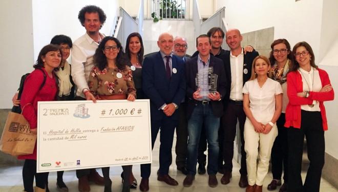 El Hospital de Hellín consigue el tercer premio al Hospital Optimista en la categoría de Centros