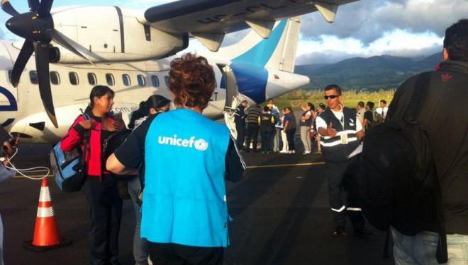 Más de 150.000 niños afectados por el terremoto en Ecuador