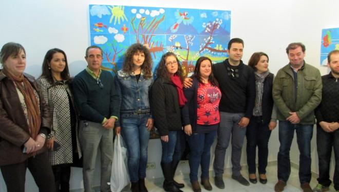 """Inaugurada la exposición """"Formando parte…con arte"""""""