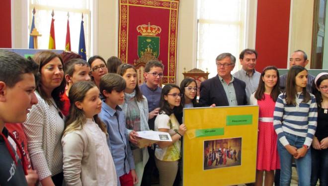 Entrega de los premios infantiles de Narración y Marcapáginas