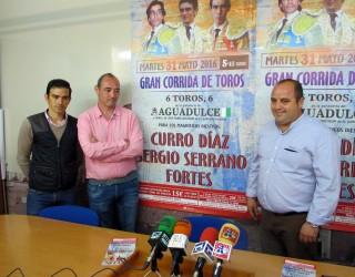 Curro Díaz, Sergio Serrano y Jiménez  Fortes, cartel para el festejo del Día de la Región