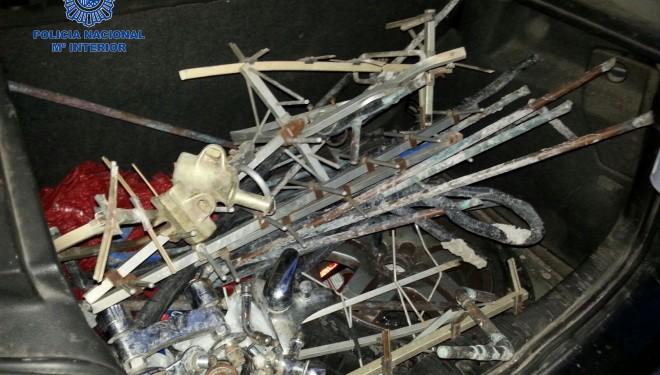 Cuatro detenidos en Hellín por robo en una parcela