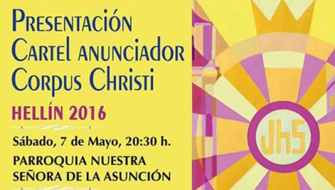 Presentación del cartel anunciador del Corpus Cristi