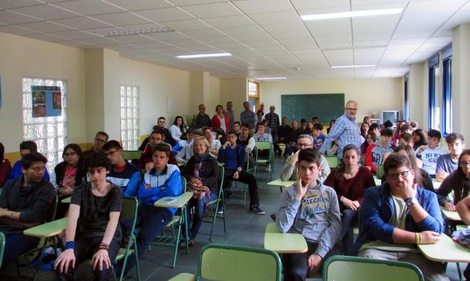 Alumnos del IES Izpisúa Belmonte / EFDH.