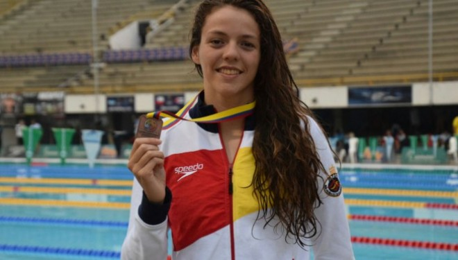 Nerea Ibáñez consigue una medalla de plata y dos de bronce