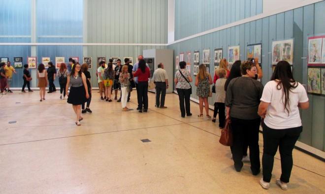 Exposición Bachillerato de Artes del Instituto Justo Millán / EFDH