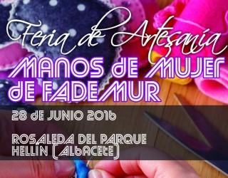 Feria Artesana Manos de Mujer, mañana martes en la Rosaleda del Parque