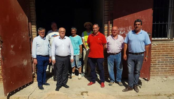 El delegado de la Junta llegaba a Hellín para inspeccionar las obras del Plan Extraordinario de Trabajo