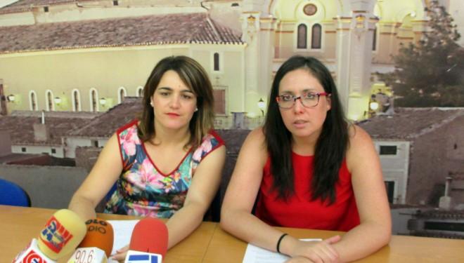 María Dolores Vizcaíno y Fabiola Jiménez hicieron un balance del año de gobierno