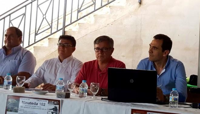 """Éxito de las Jornadas """" Minateda, el gran legado de una sociedad en transición"""""""