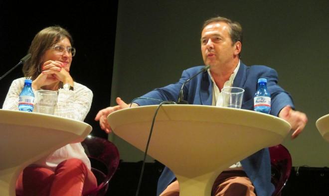 Javier MOro y Lola Marín / EFDH.