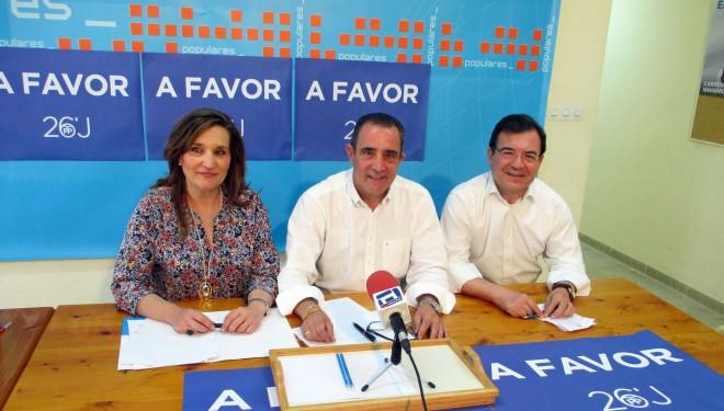 Francisco Molinero y Rosario Rodríguez abren la campaña electoral