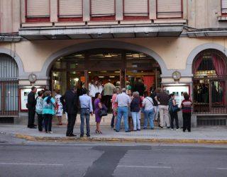 Jornada de puertas abiertas en el Teatro Victoria en la mañana del domingo