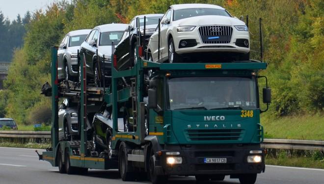 Paro de los transportistas de vehículos nuevos