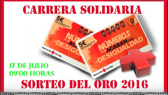 Carrera Solidaria Sorteo Oro organizada por Cruz Roja de Hellín
