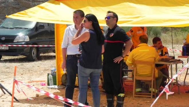 El fuego de Liétor afecta a 700 hectáreas pero ya está perimetrado