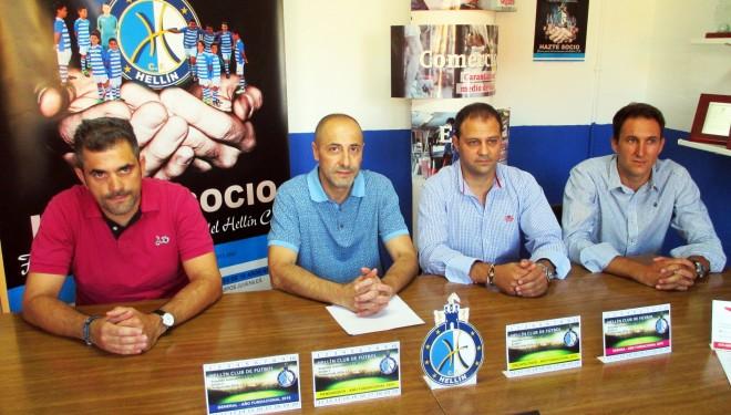 Presentada la campaña de abonos del Hellín Club de Fútbol